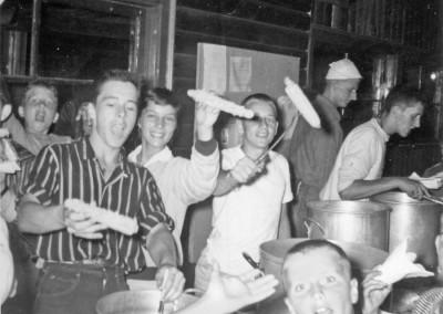 Années '50. Corn party