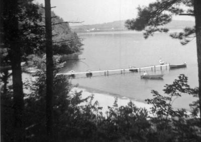 Années '50. La plage