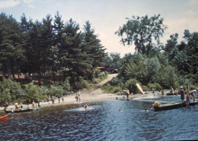 Années '60. La plage