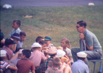1962. Gaston Lapointe, chef de camp
