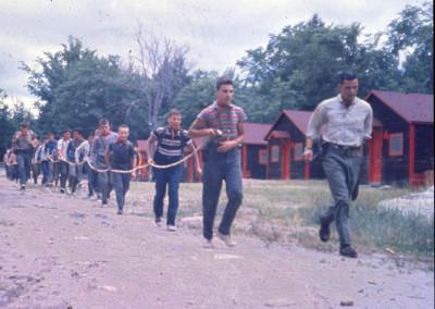 Années '60. On part en camping.