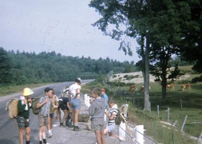 Années '60: En camping