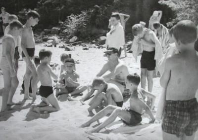 Autour de 1961. Gaston Lapointe