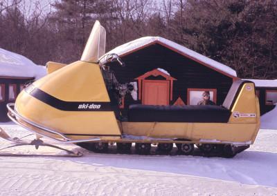 1968 . Il y avait de la neige au camp! - Gaston Lapointe