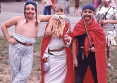 1969. Un grand gala. Obélix, Assurancetourix