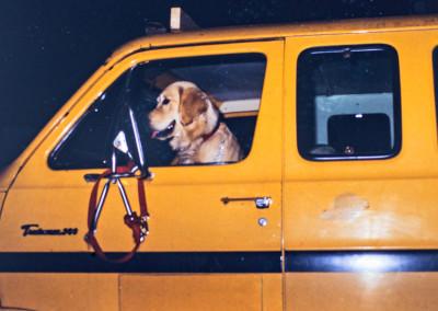 1987. Toby, le chien de l'intendant