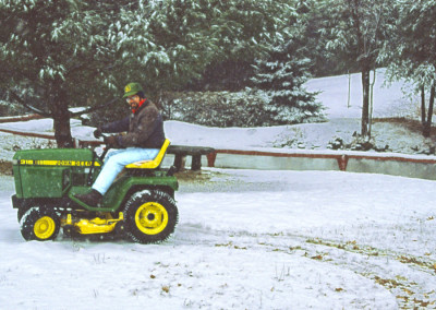 1989. Le gazon était long cet hiver-là ;) - Louis Geoffroy